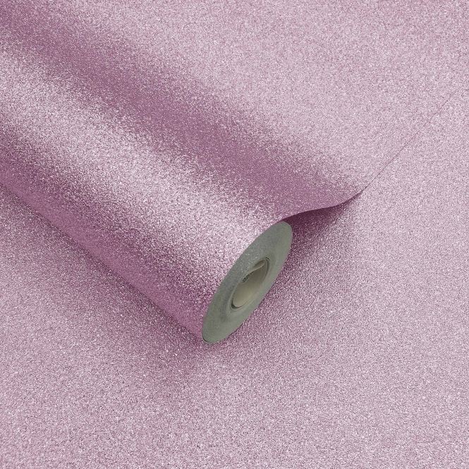 Fine Decor Sparkle Glitter Wallpaper Soft Pink (FD41586)