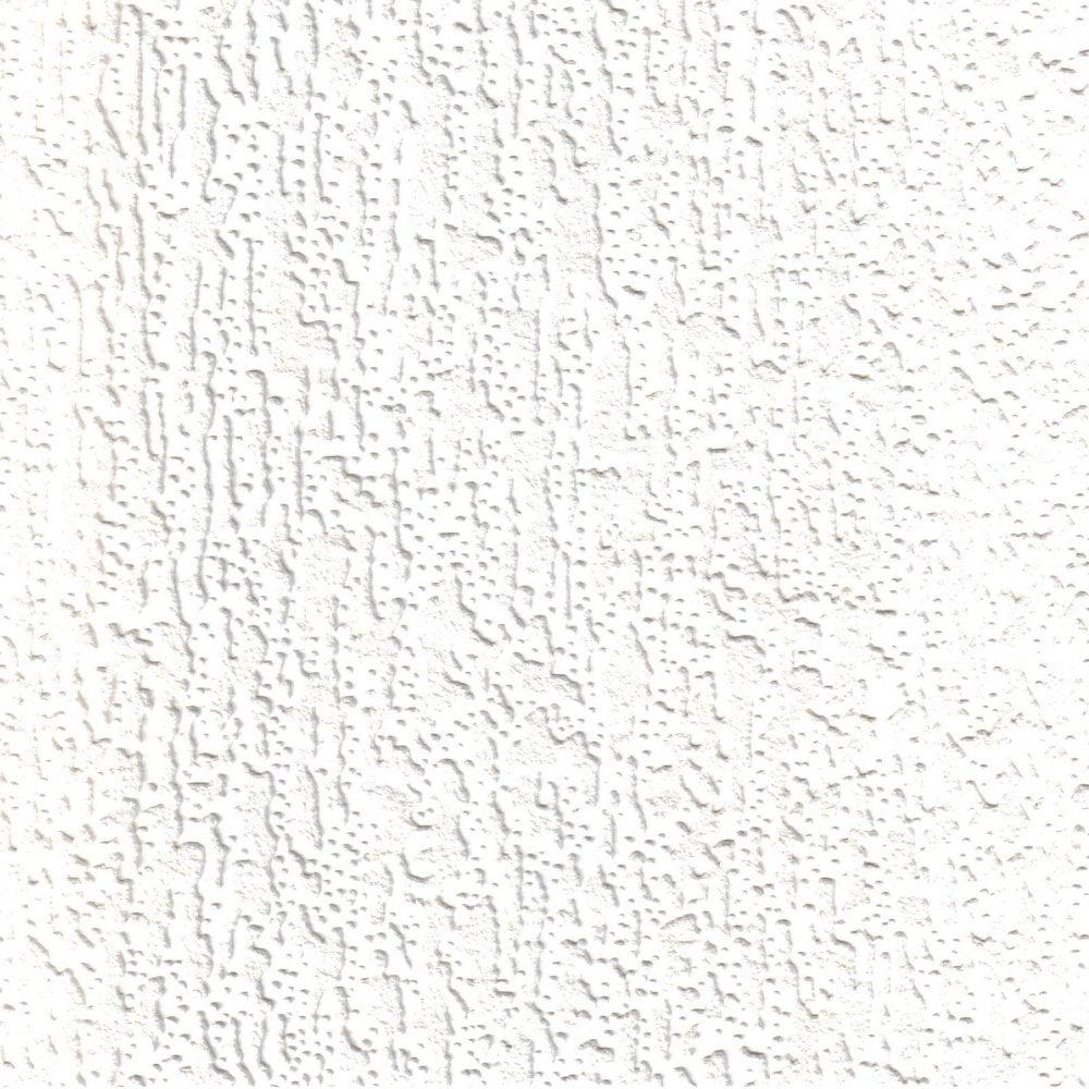 Supatex Fine Bark Pure White Textured Paintable Wallpaper (21511)