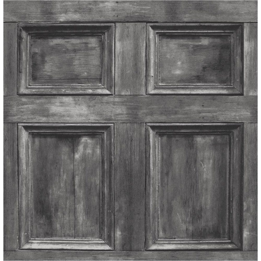 Buy Fine Decor Wood Panel Wallpaper Silver Charcoal Grey