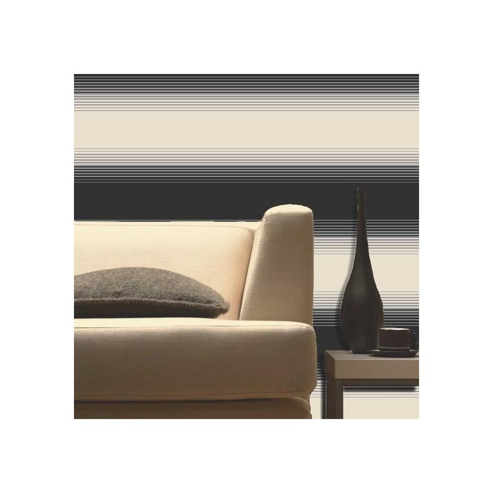Buy fine decor zara stripe wallpaper black cream for Zara home wallpaper uk