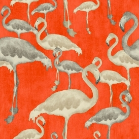 Flamingo Beach Wallpaper Calypso