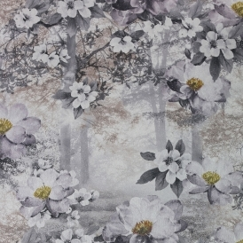 Floral Forest Wallpaper Multicoloured