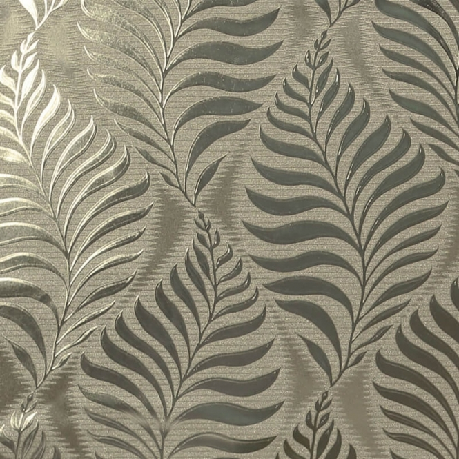 Arthouse Foil Embossed Leaf Wallpaper Natural, Gold (901805)