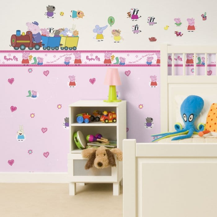 Peppa Pig Childrens Kids Wallpaper Pink (WP11718) Part 73