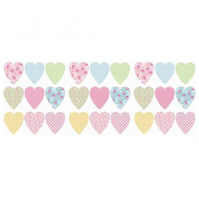 fun4walls pretty hearts wall stickers stikarounds sa11879 fun4walls cupcake wall stickers stikarounds fun4walls