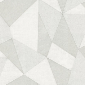 Geometric Fractal Wallpaper Pearl