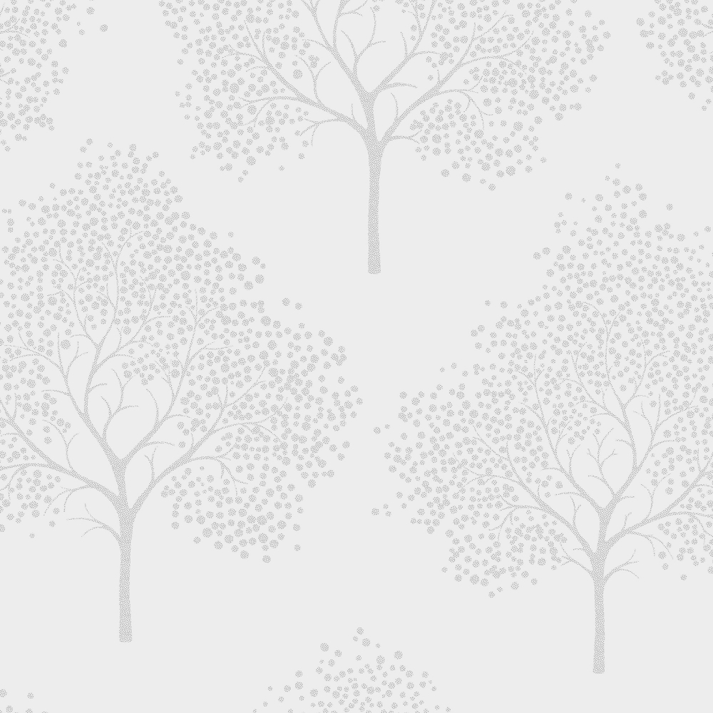 I Love Wallpaper Glitter Tree Wallpaper Soft Grey Silver