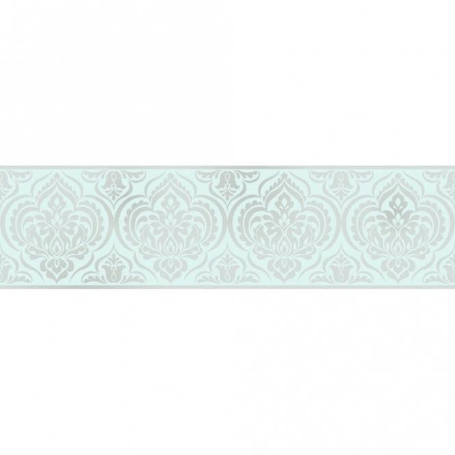 Fine Decor Glitz Ornamental Damask Glitter Wallpaper