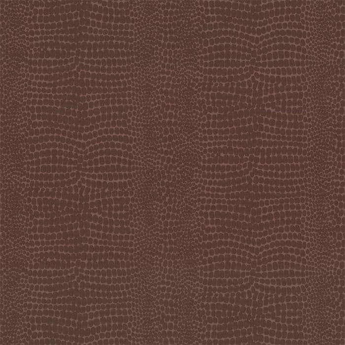 Buy Graham And Brown Crocodile Wallpaper Chocolate Brown