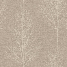 Hadrian Wallpaper Taupe