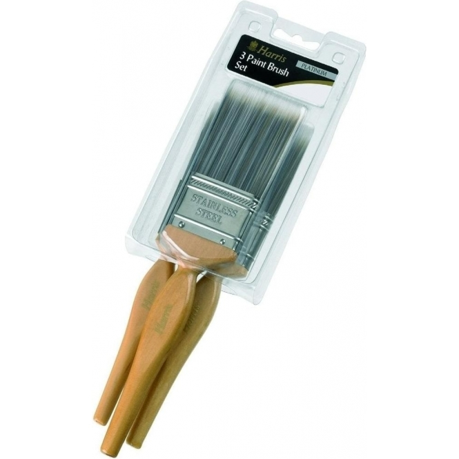 Harris Platinum Brush Set 3 Pack (13189)