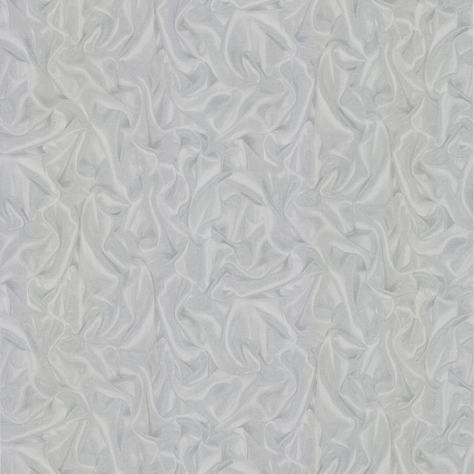 Henderson Interiors PrimaDonna Crushed Satin Wallpaper Grey, Silver (43744WW)