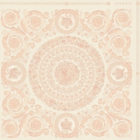 Heritage Tile Wallpaper Pink