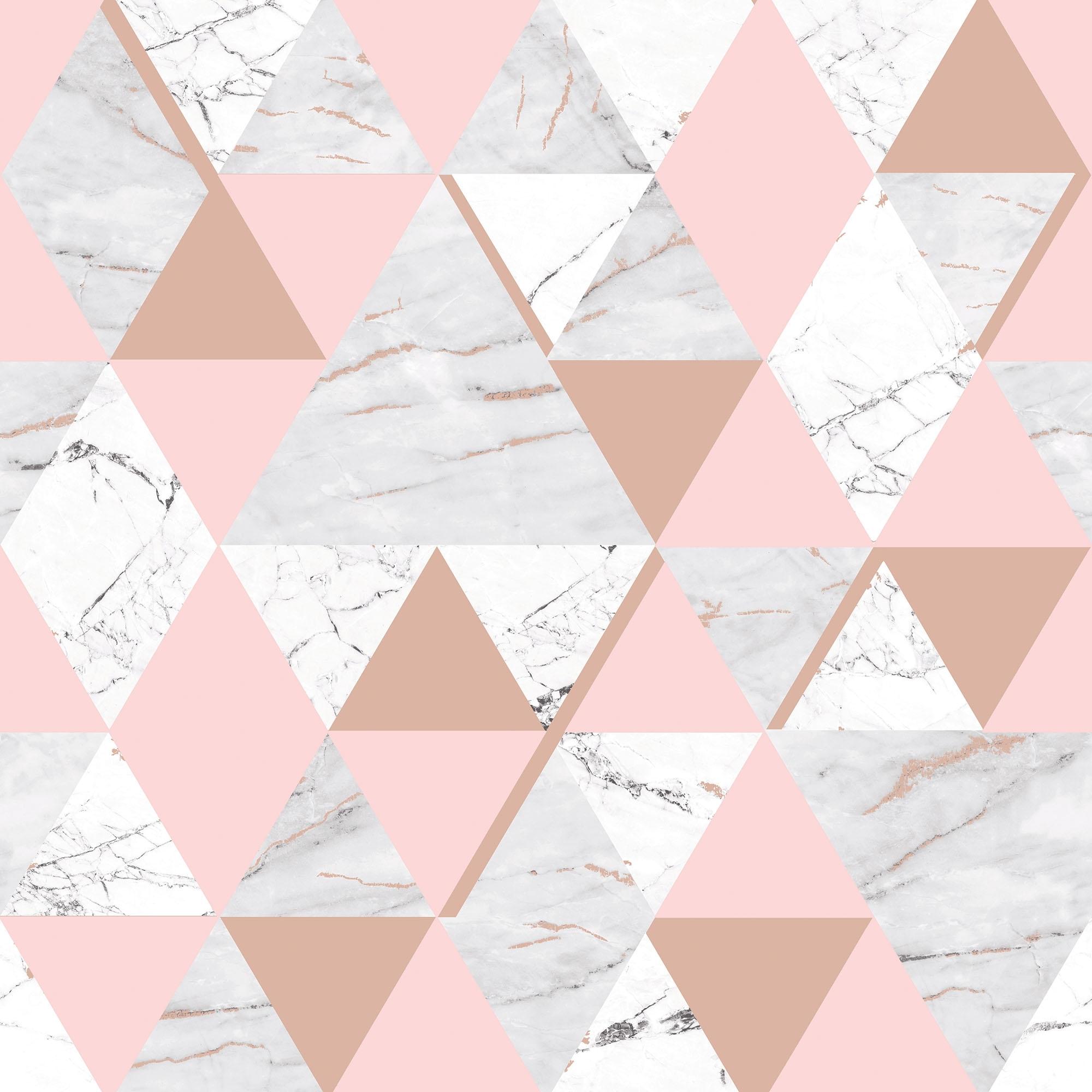Onyx Marble Metallic Wallpaper Soft Pink Rose Gold H980567 Wallpaper From I Love Wallpaper Uk
