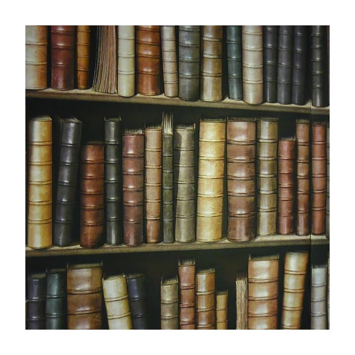 Book Shelf Book Case Effect Wallpaper Ilw9009