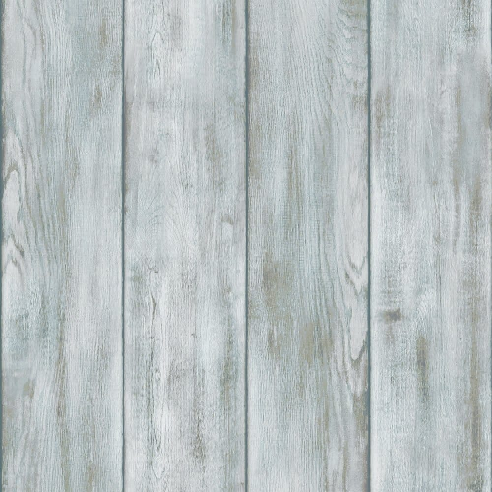 Drift Wood Wallpaper Natural Blue White Ilw009