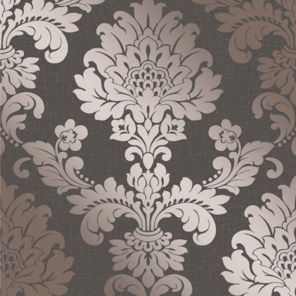 i love wallpaper glisten damask wallpaper bronze