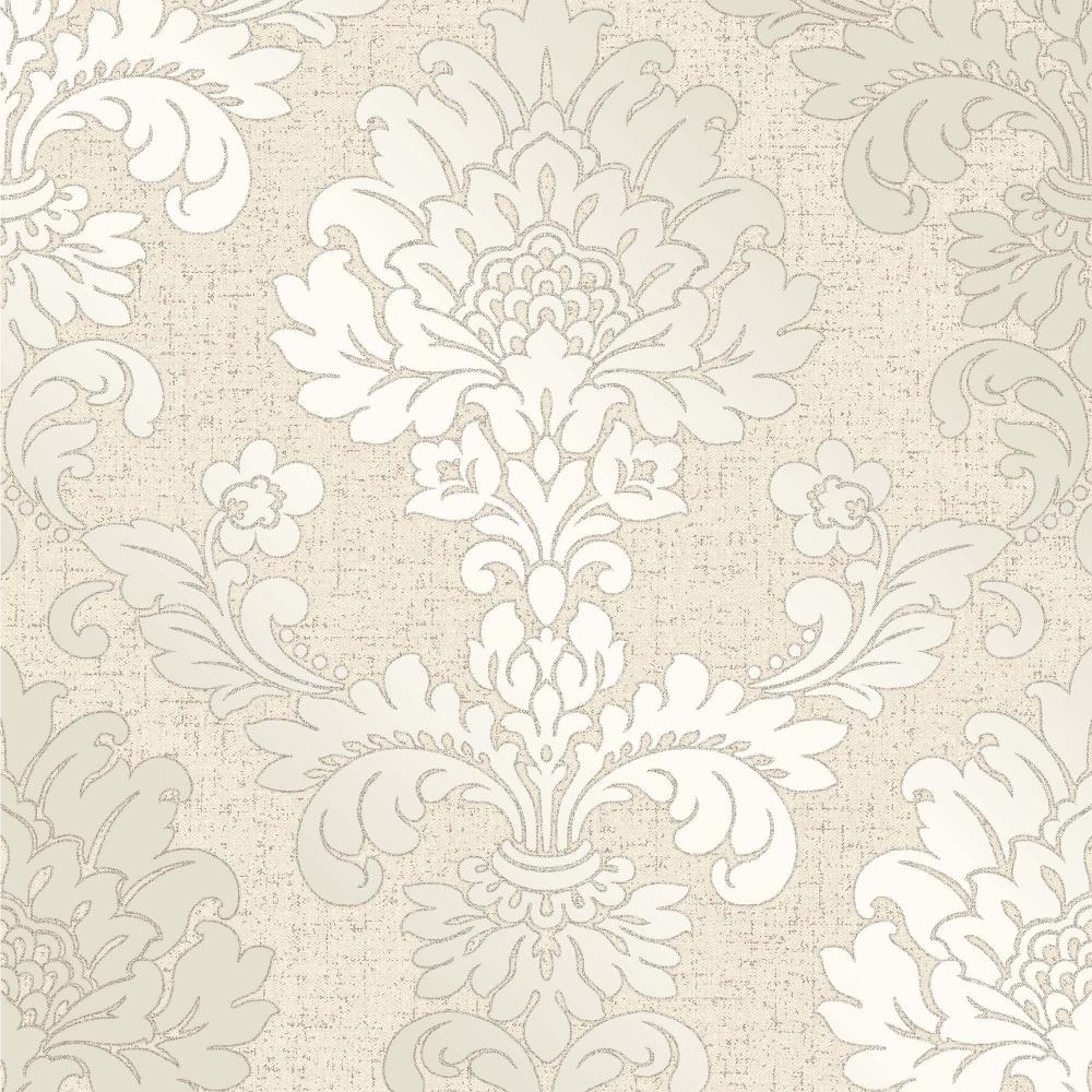 Glisten Damask Wallpaper Gold (ILW980089) - I Love Wallpaper Glisten Damask Wallpaper Gold (ILW980089