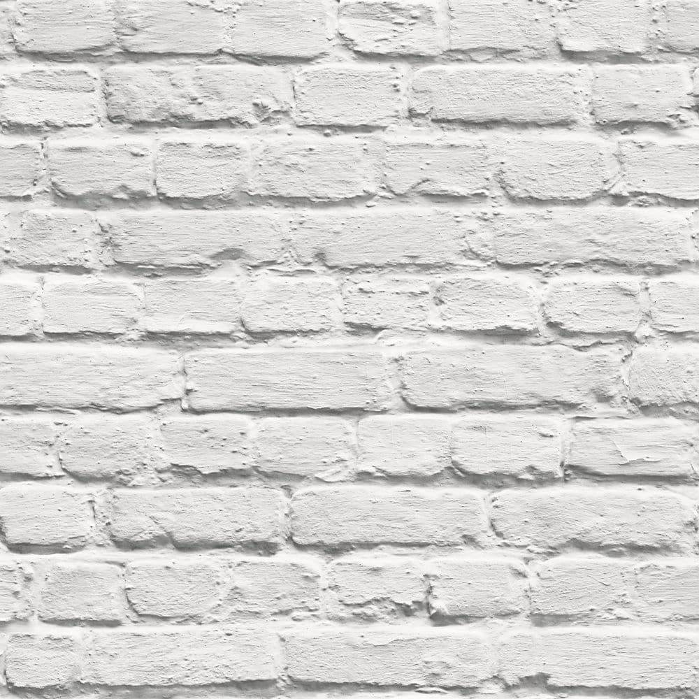 white brick wallpaper uk