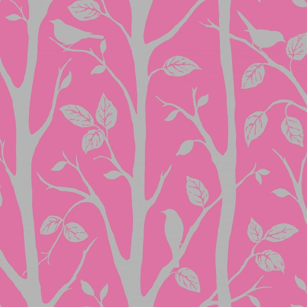 I love wallpaper shimmer harmony wallpaper pink silver for Purple and silver wallpaper