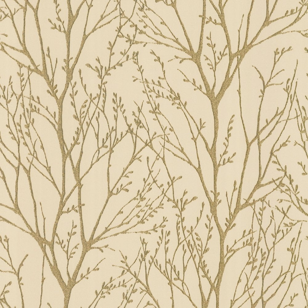 Shimmer Wallpaper Metallic Gold Cream ILW980005