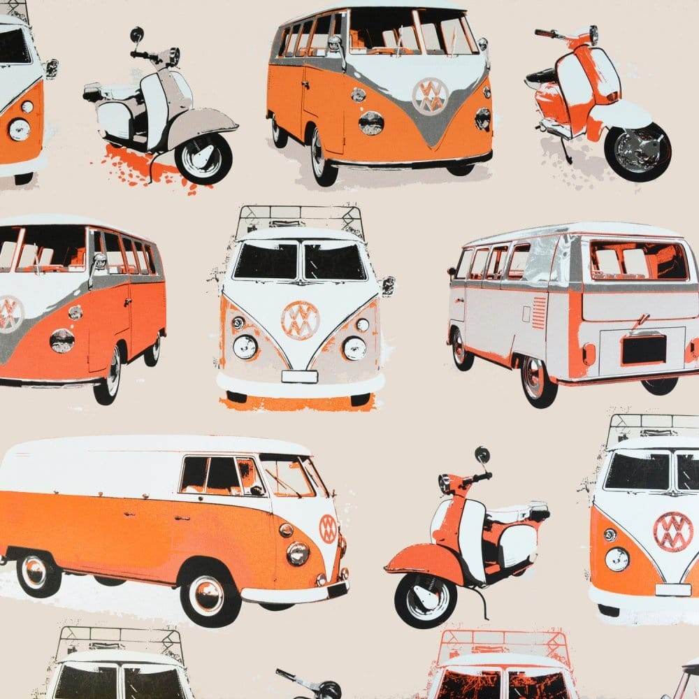 I Love Wallpaper Vw Camper Van Scooter Wallpaper Orange HD Wallpapers Download Free Images Wallpaper [1000image.com]