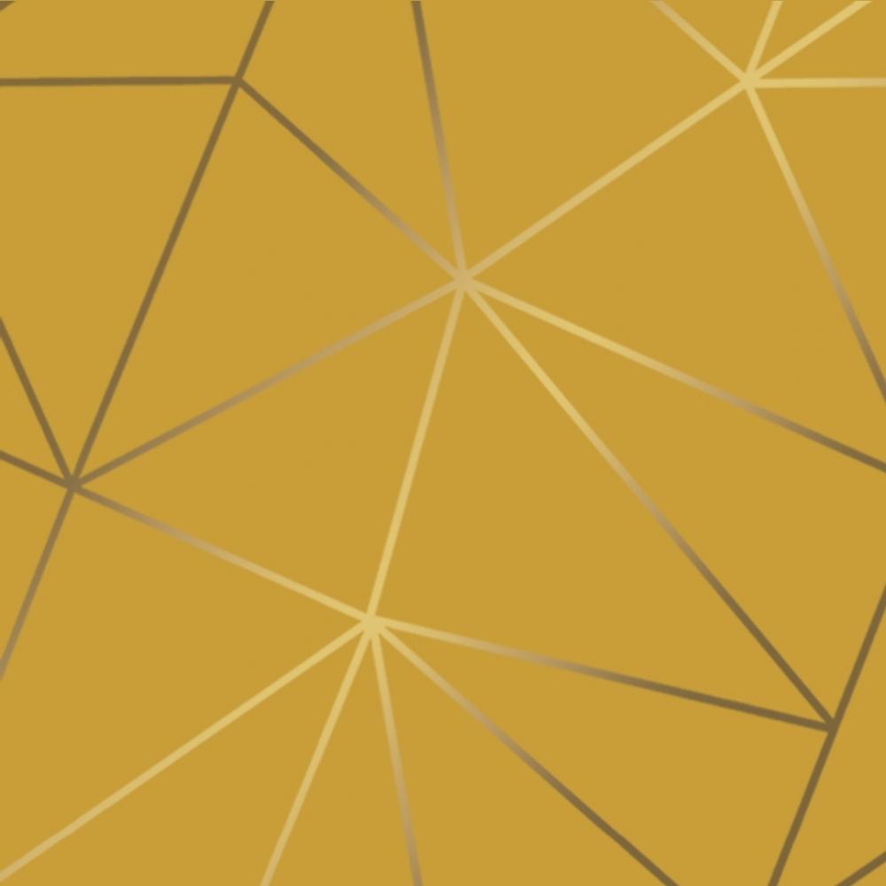 I Love Wallpaper Zara Shimmer Metallic Geometric Wallpaper