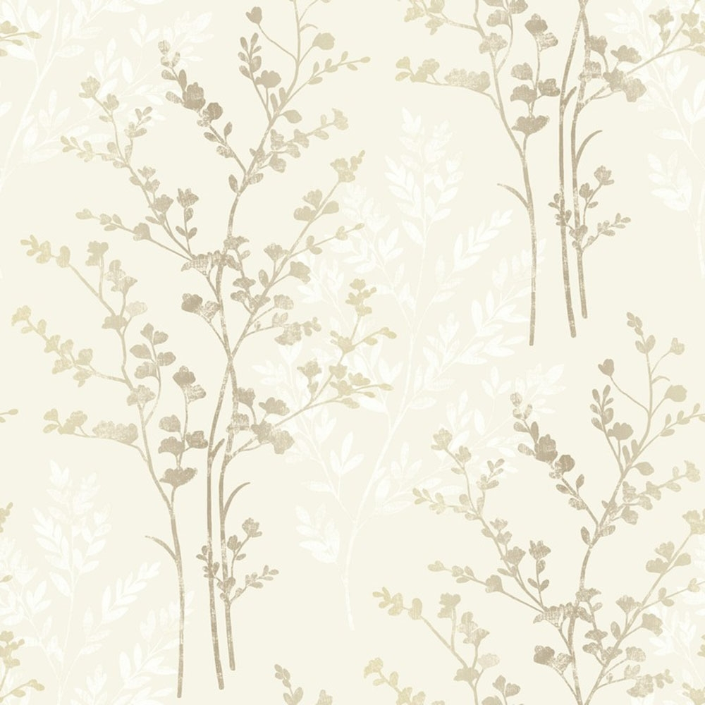 arthouse imagine fern silver motif vinyl