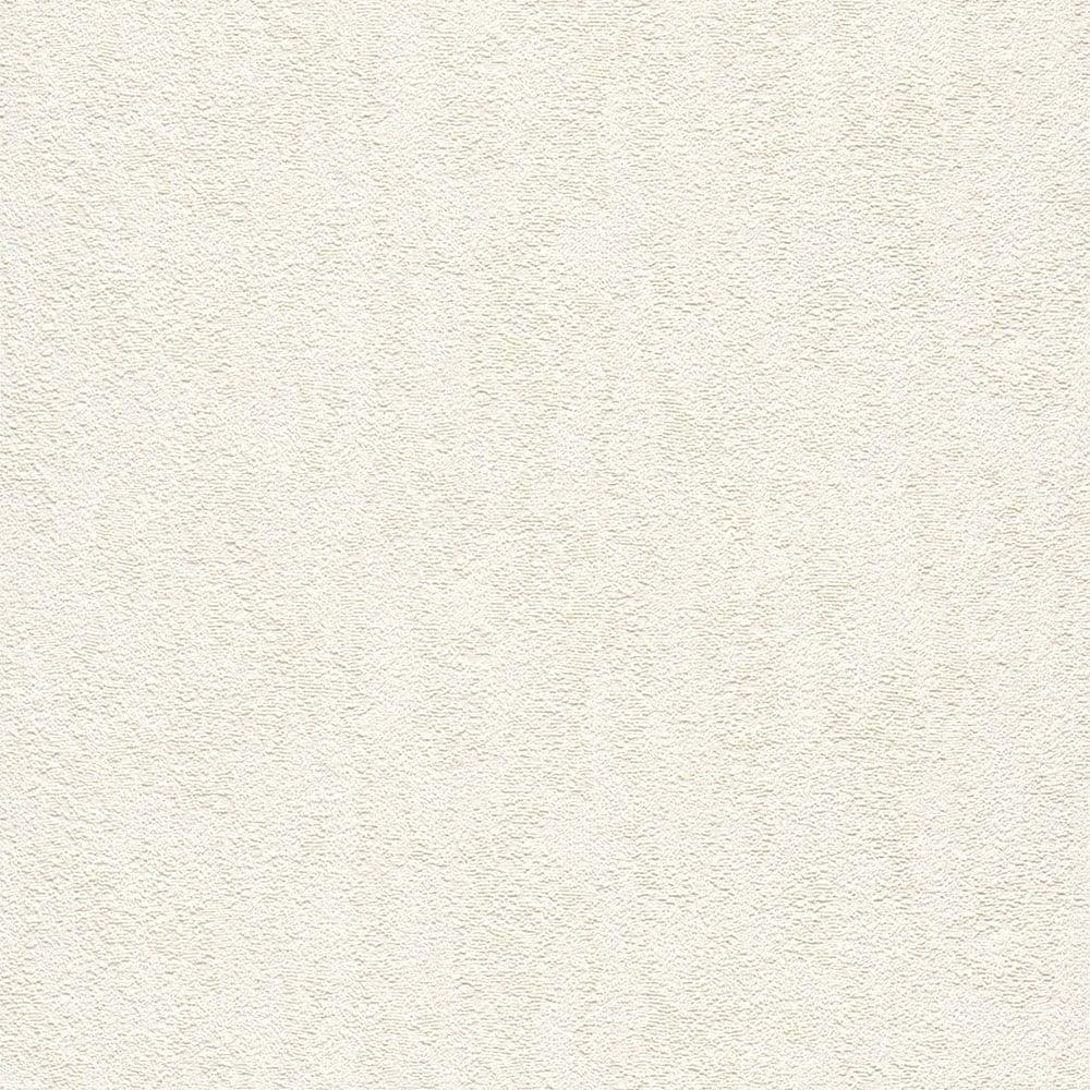 Rasch Italian Textures Plain Wallpaper White 522808