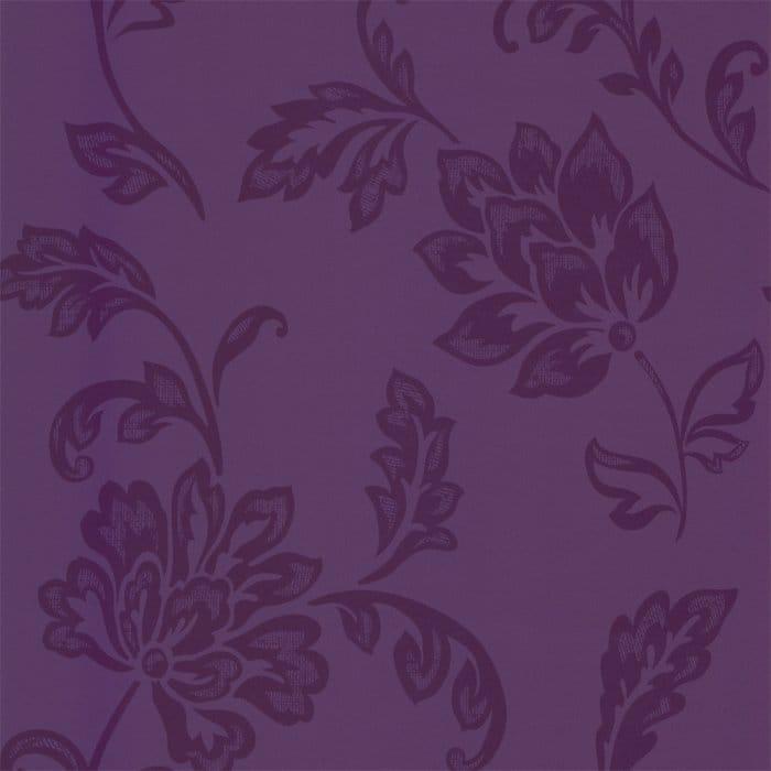 Designer Selection Jasmine Floral Wallpaper Purple