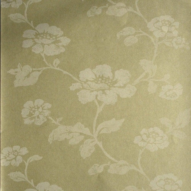 Kenneth James Savoy Floral Trail Wallpaper Champagne (FD51935)