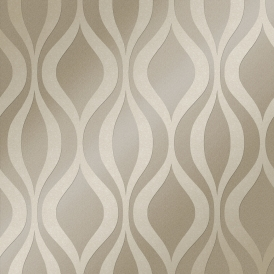 Kensington Textured Geometric Speedyhang Wallpaper Pewter