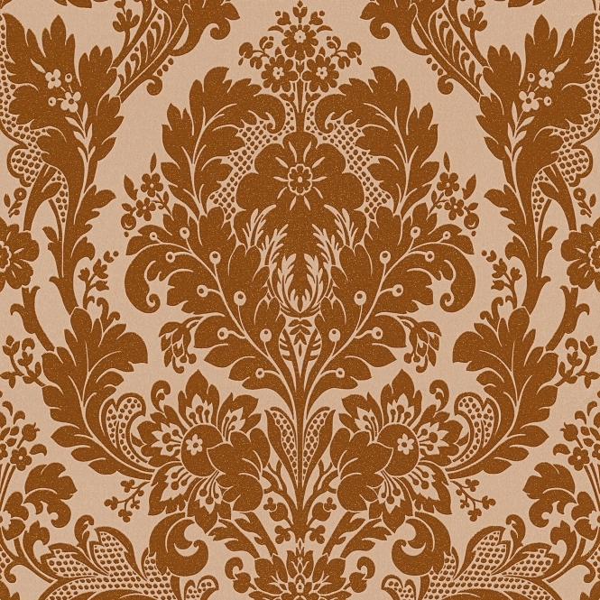 AS Creations Kingsley Damask Glitter Wallpaper Bronze (32750-1)