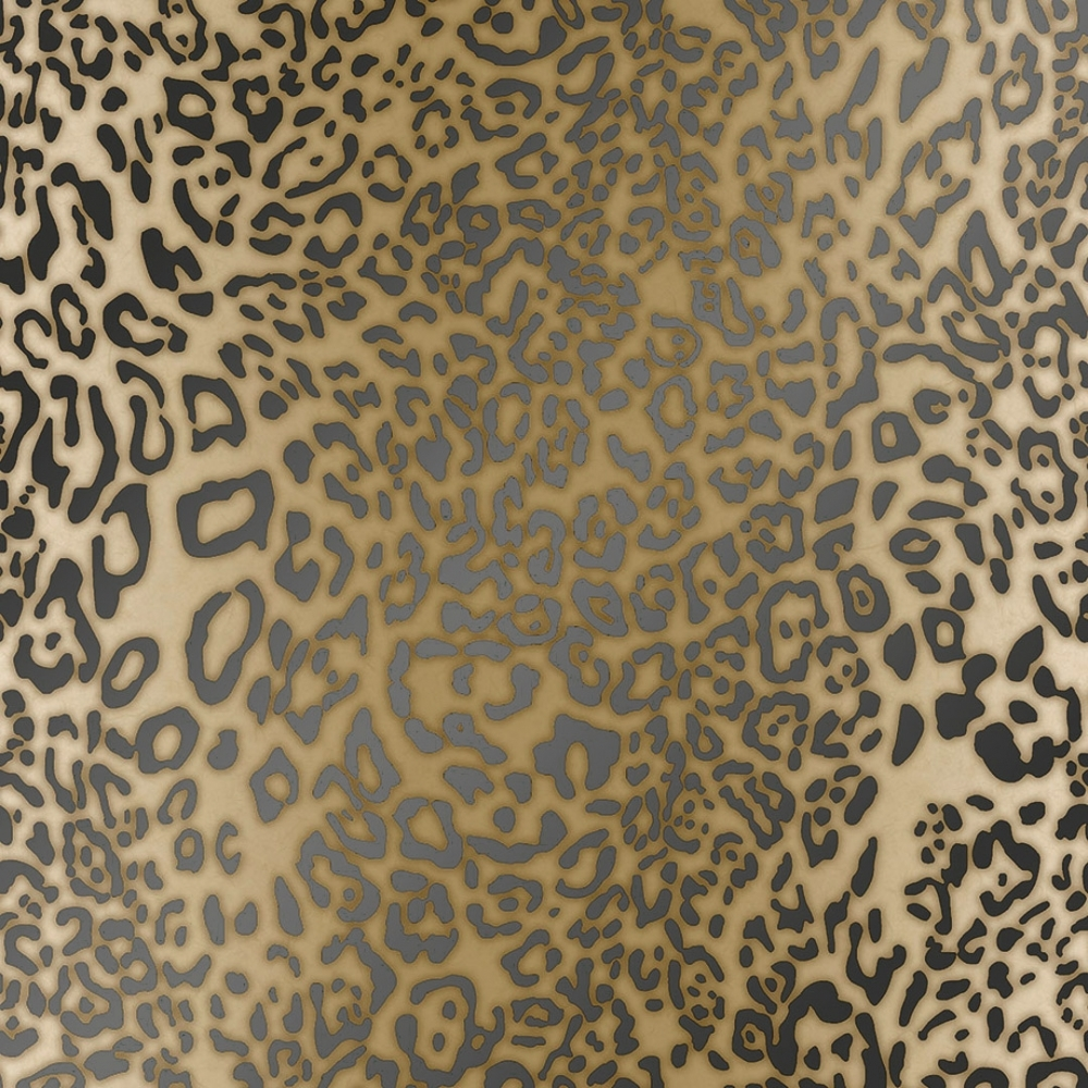 Leopard Print Effect Wallpaper Yellow Wallpaper From I