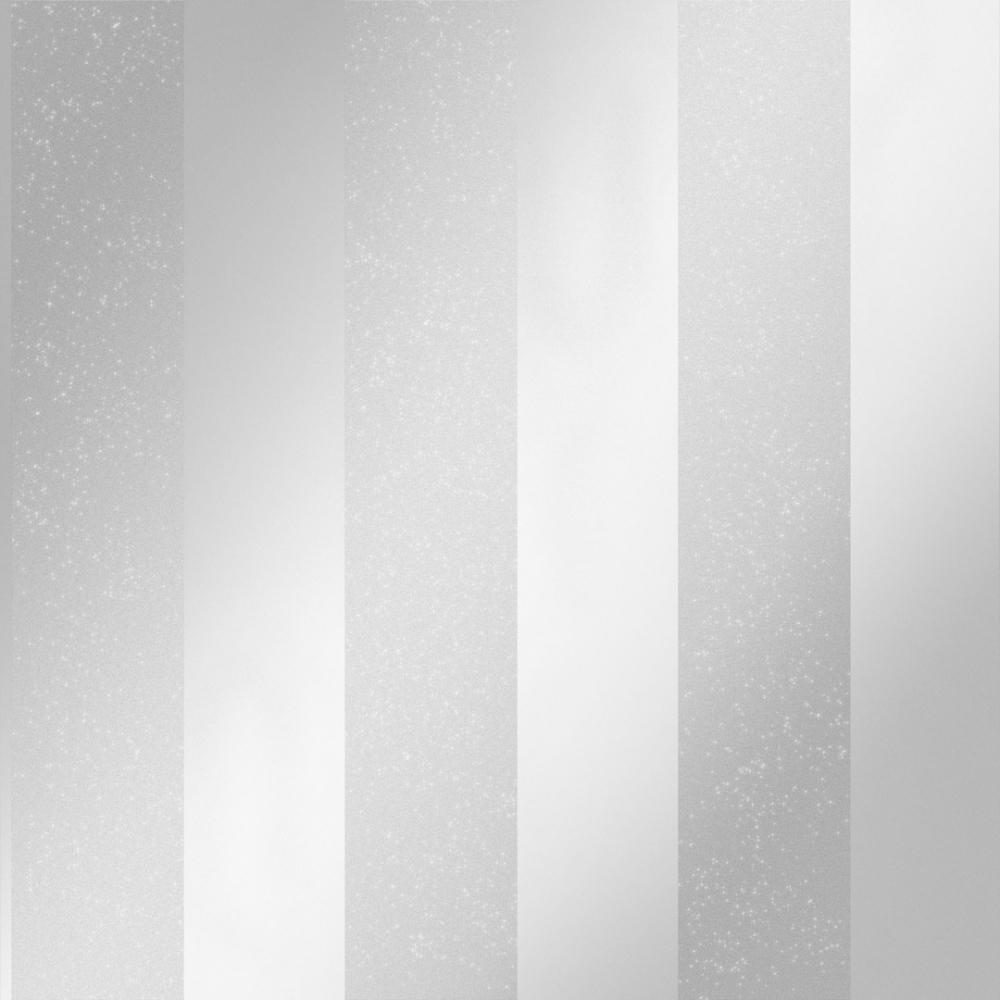 London Stripe Wallpaper Silver