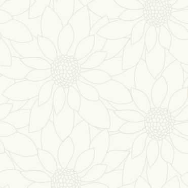 Louisa Floral Wallpaper White (89150)