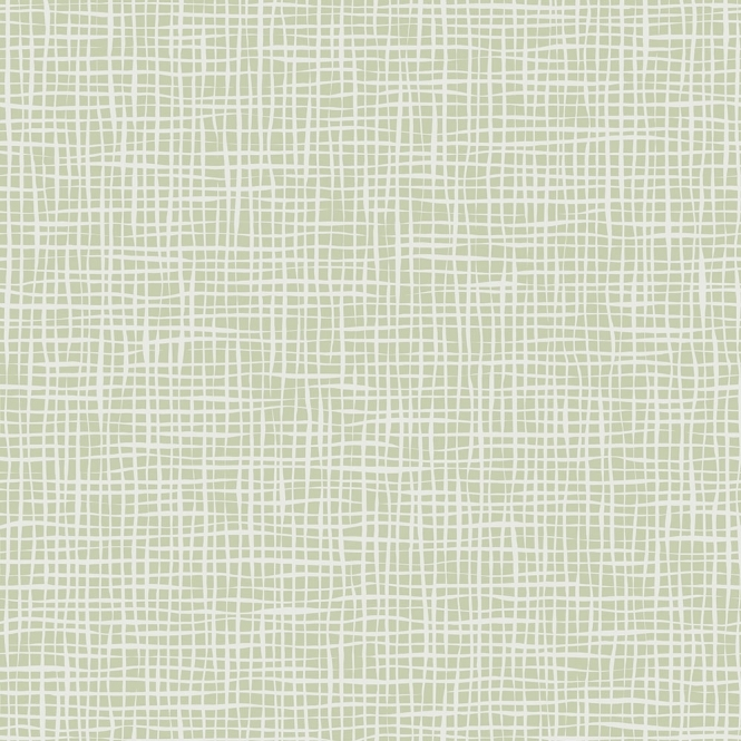 Lucie Annabel Weave Texure Wallpaper Green (LA980585)
