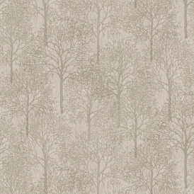 LUX Textures Chenille Forest Wallpaper Taupe