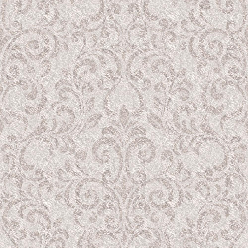 Lipsy London 174 Luxe Damask Glitter Wallpaper Rose Gold