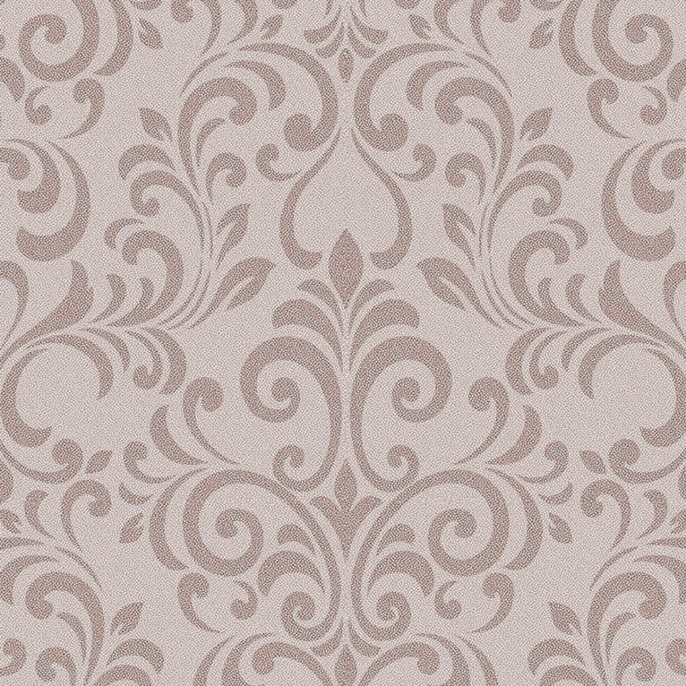 Luxe Damask Glitter Wallpaper Rose Gold Wallpaper From I Love