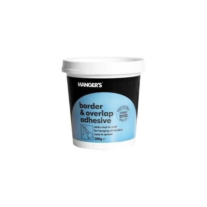 Mangers Border and Overlap Adhesive 500g
