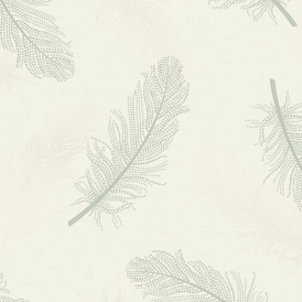 Marcia Leaf Wallpaper Green