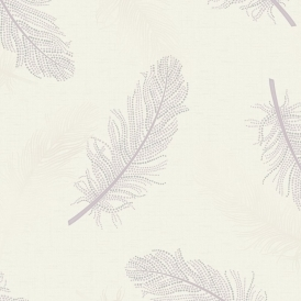 Marcia Leaf Wallpaper Heather