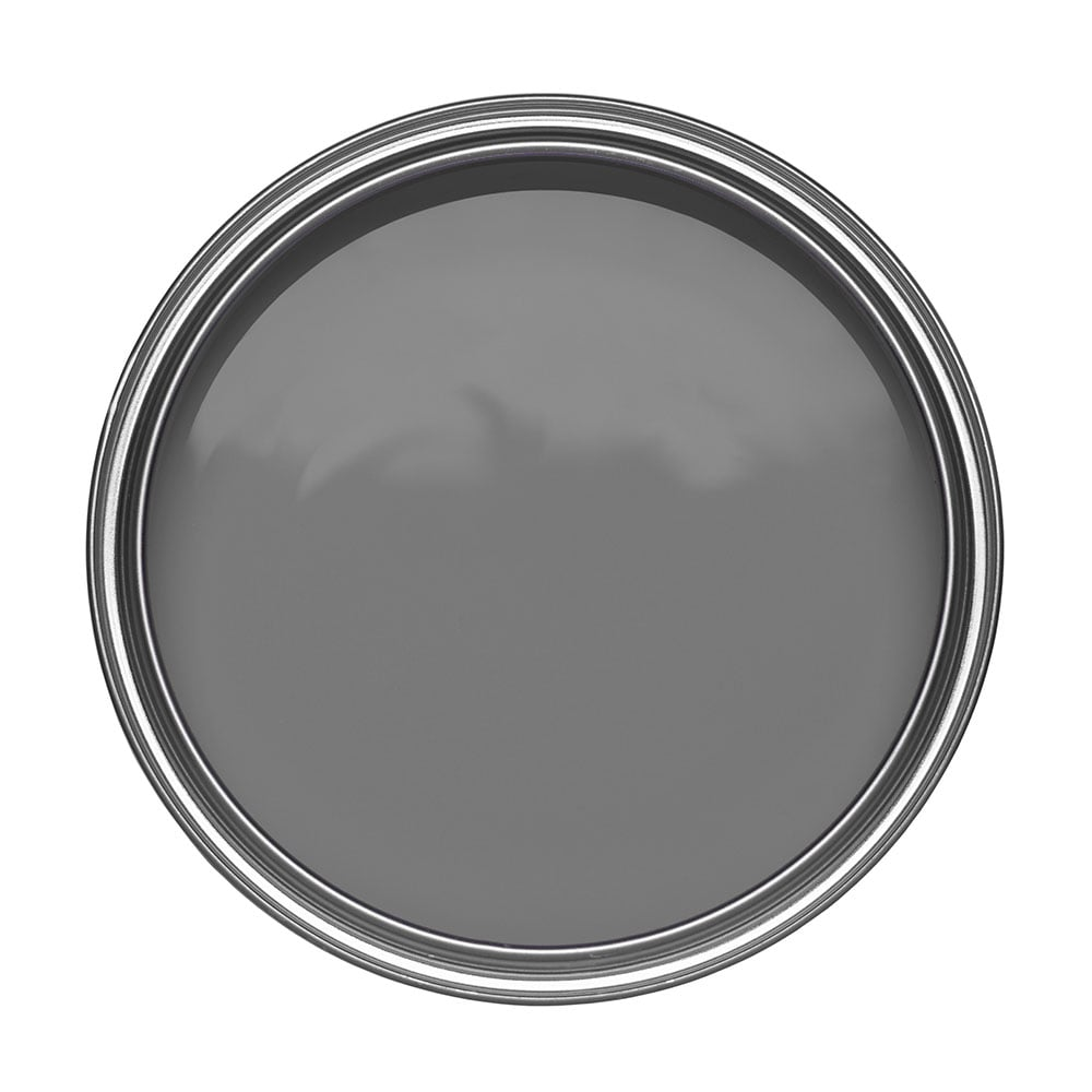 Johnstone S Matt Emulsion Paint 2 5l Steel Smoke Dark