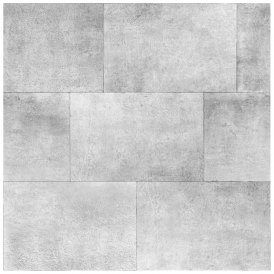 Metallic Brick Wallpaper Silver (141202)