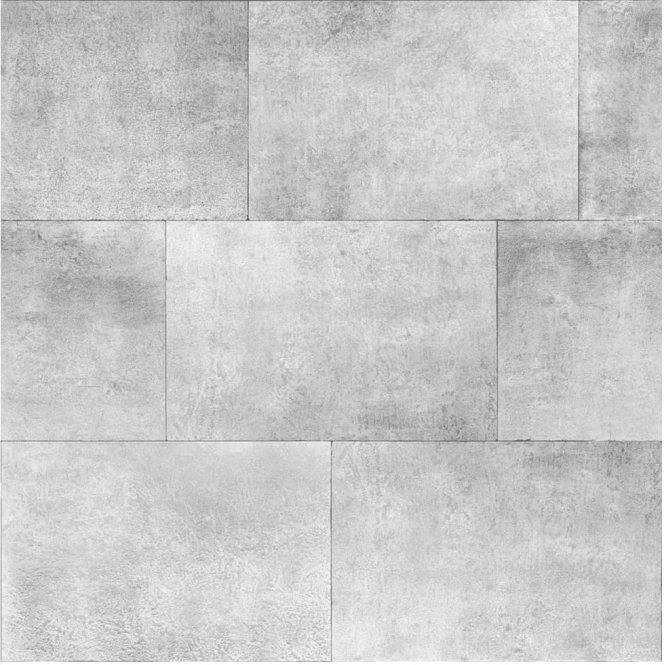 Muriva Metallic Brick Wallpaper Silver (141202)