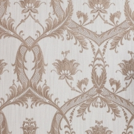 Milano 4 Damask Wallpaper Rose Gold (M95597)