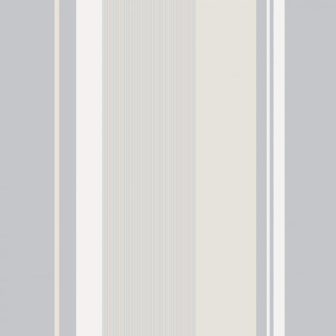 Crown Millie Stripe Wallpaper Natural M0882 Wallpaper
