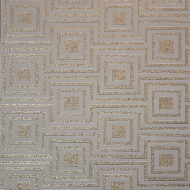 Arthouse Modena Geometric Wallpaper Rose Gold