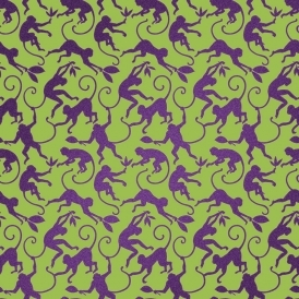 Monkey Business Designer Wallpaper Canopy